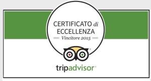 COE Certificato di Eccellenza Tripadvisor